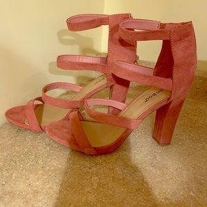 Mauve color shoe